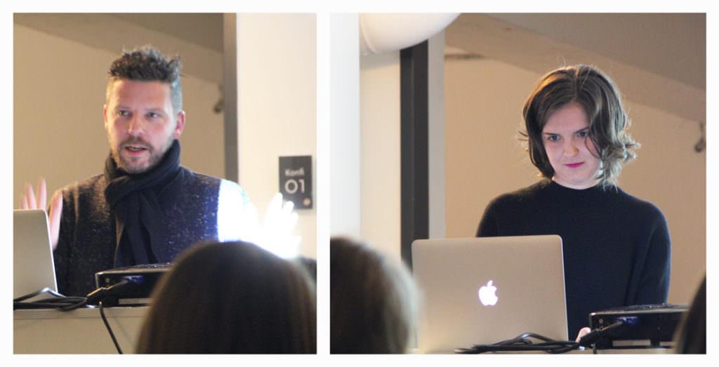 Die zwei Referenten beim 30/30 bei TDUB
