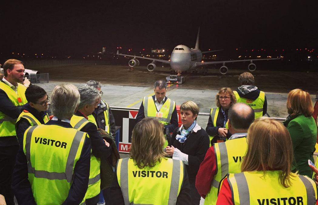 IPRN-Besuch bei Cargolux