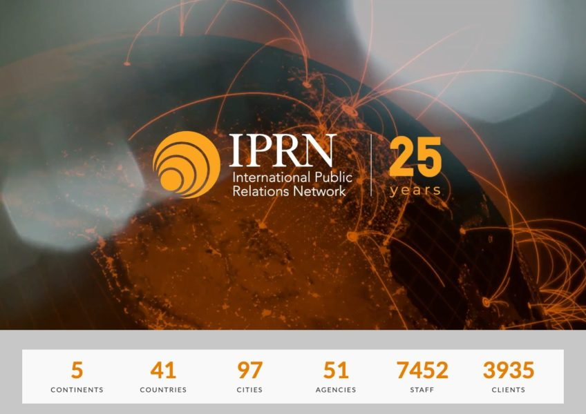 IPRN Website Screenshot
