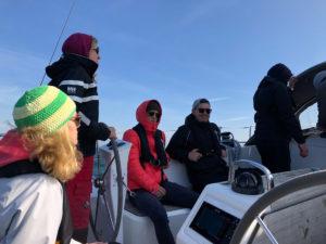 Teamsegeln auf der Ostsee 2019.