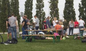 Sommerfest im Lohsepark.
